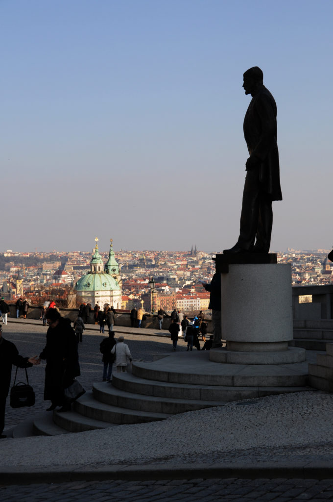 Hradschin: Masaryk Statue